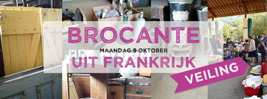 Brocante uit Frankrijk VEILING maandag 9 okt