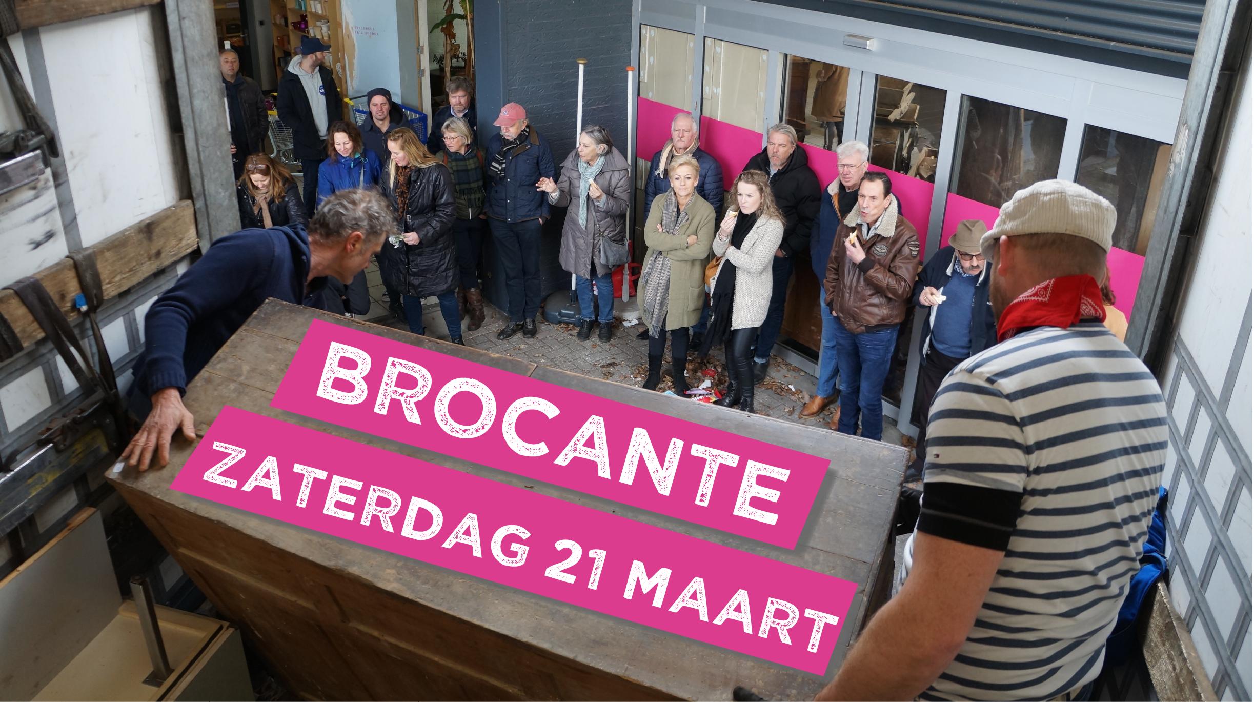 Brocante Veiling - zaterdag 21 maart