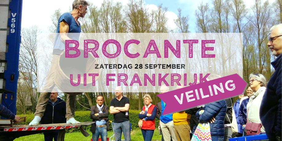 Brocante veiling - zaterdag 28 september