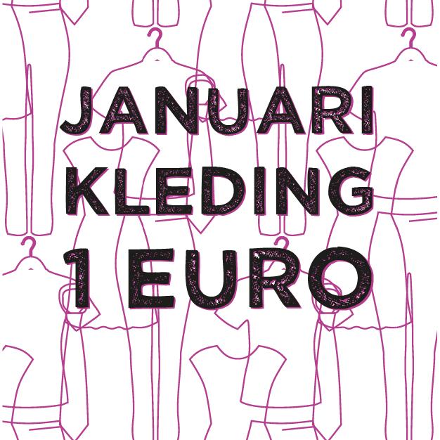 Maand januari kledingactie