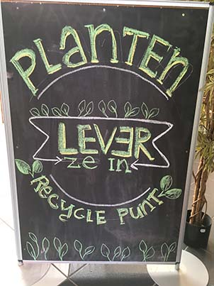 Planten-recycle-punt